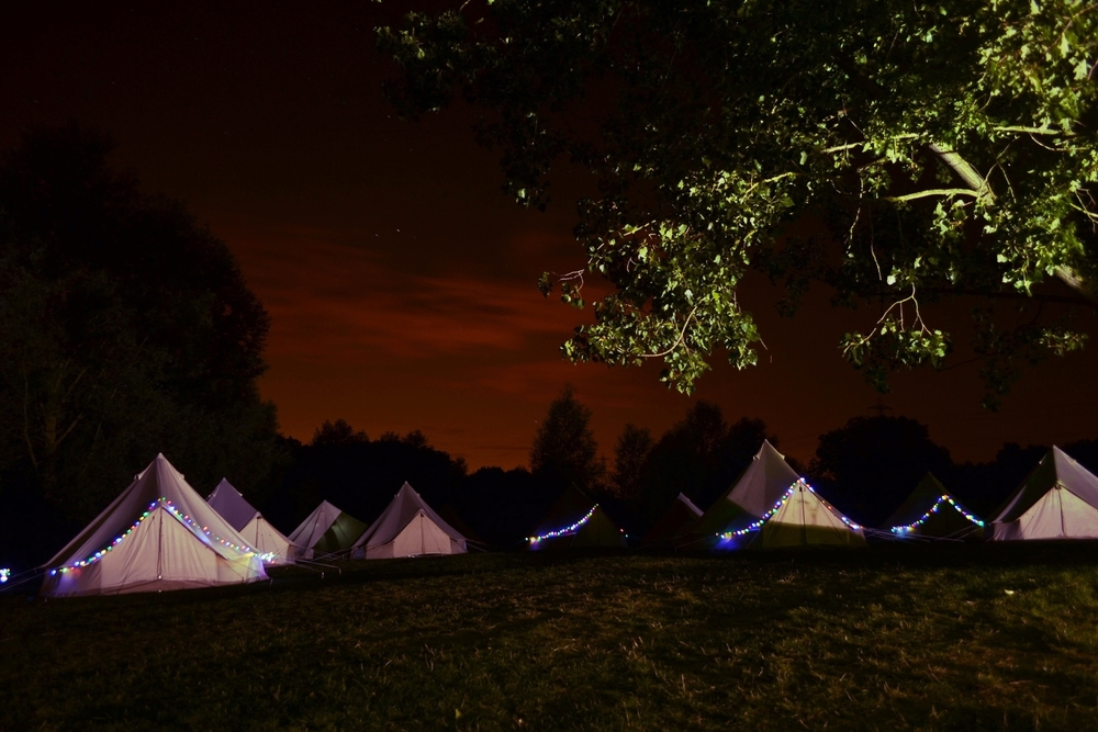 Scenic glamping for your guests