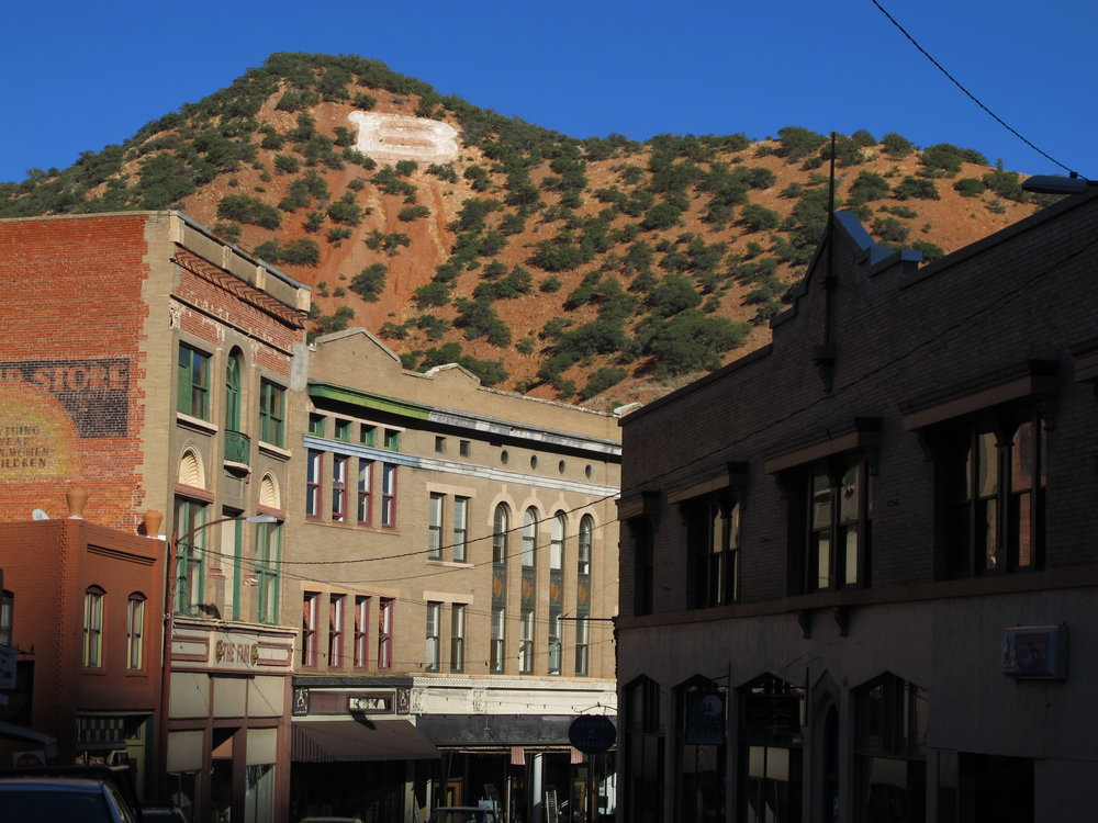 Bisbee Arizona Main St._Photo By Chuck Feil.JPG