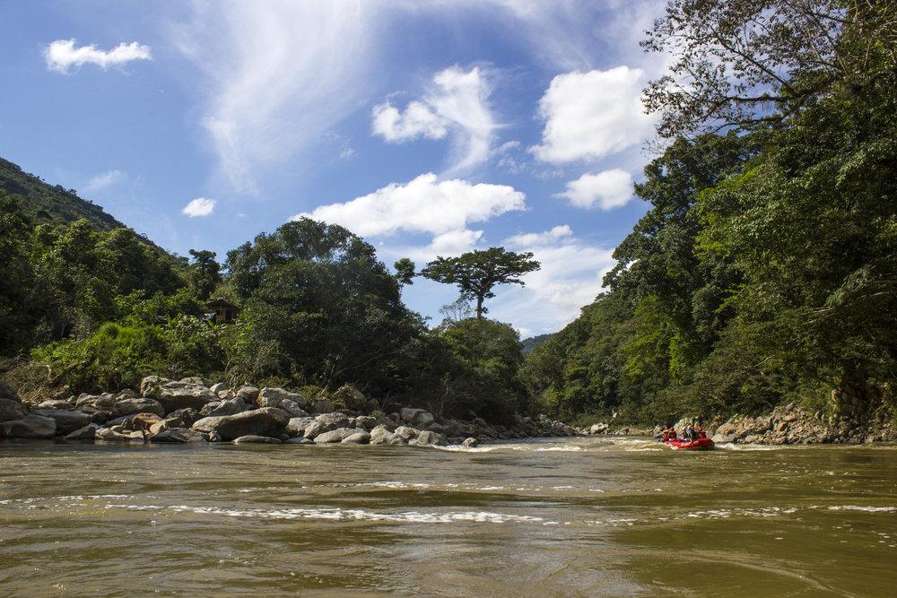 Navegacion por el Rio Samana, Jules Domine.jpg