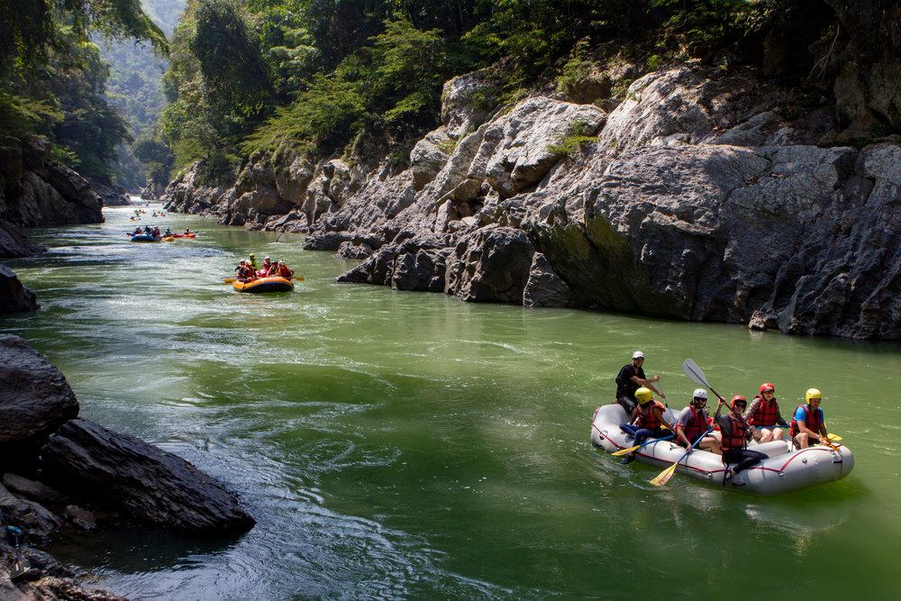 Viaje touristico por el Rio Samana, Jules Domine.jpg