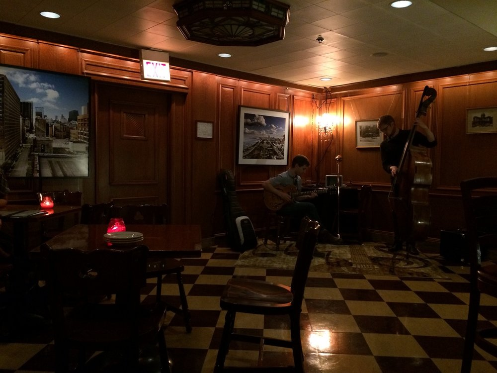 Jazz at The Berghoff speakeasy.JPG