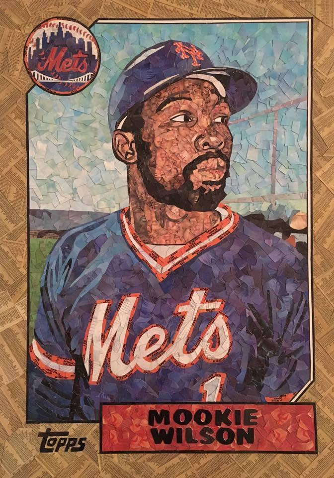 1987 Topps Mookie Wilson
