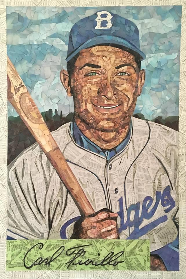 1954 Bowman Carl Furillo