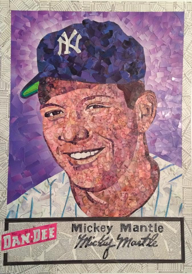 1954 Dan Dee Potato Chips Mickey Mantle