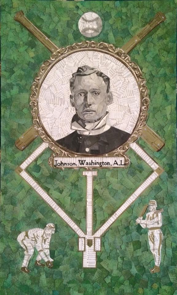 1908 Rose Postcards Walter Johnson