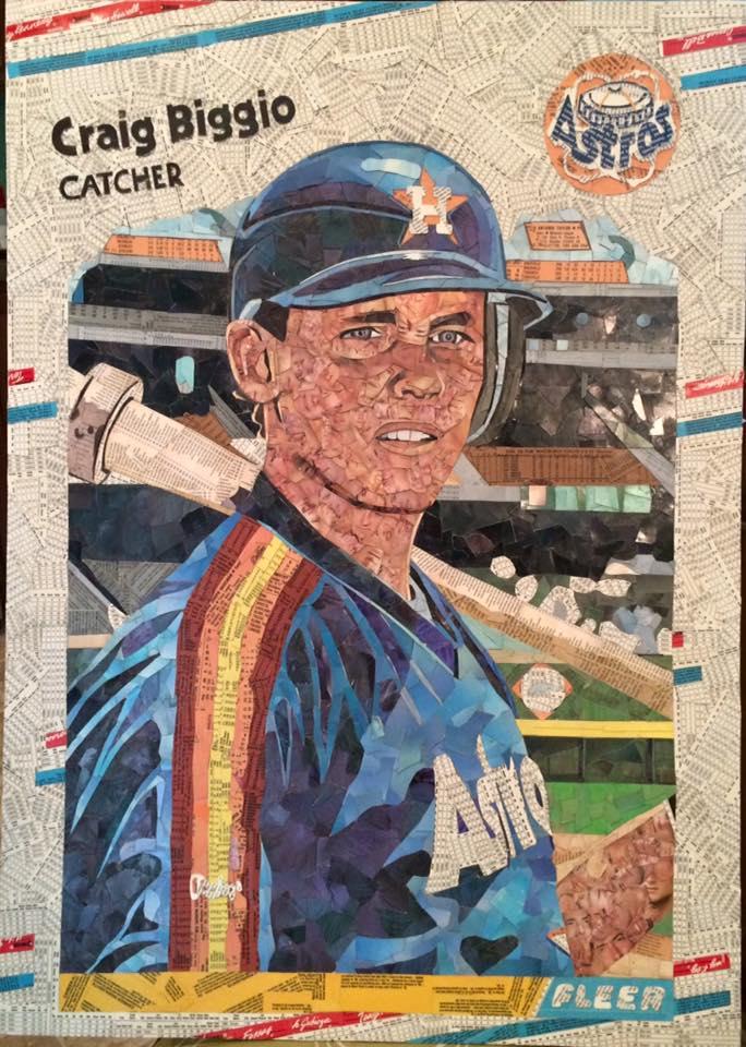 1988 Fleer Update Craig Biggio RC