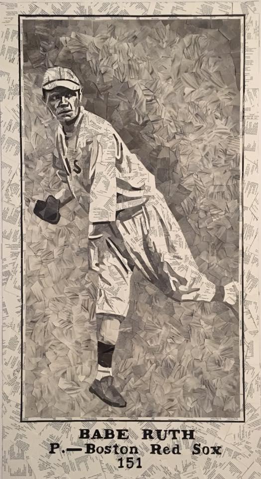 1915 M101-5 Sporting News Babe Ruth