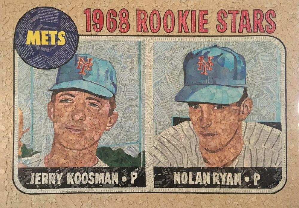 1968 Topps Nolan Ryan Jerry Koosman RC