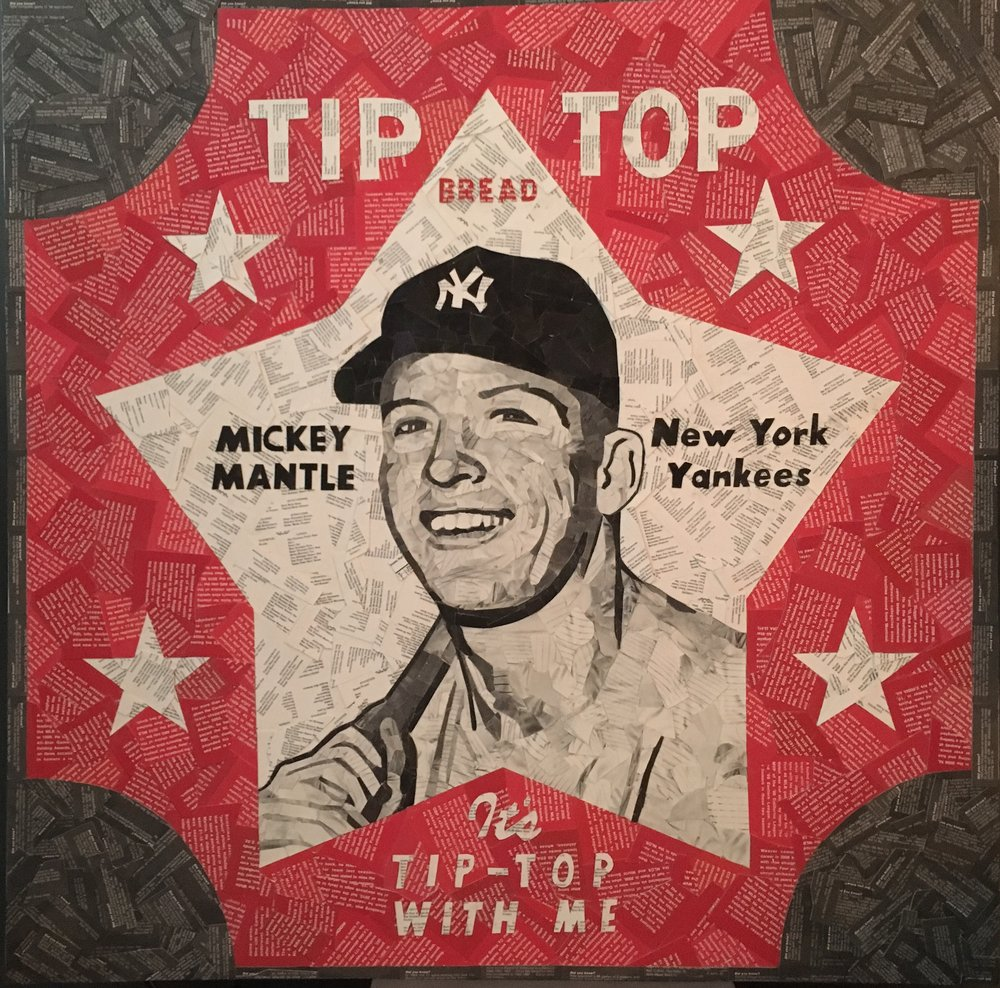 1952 Tip Top Bread Mickey Mantle