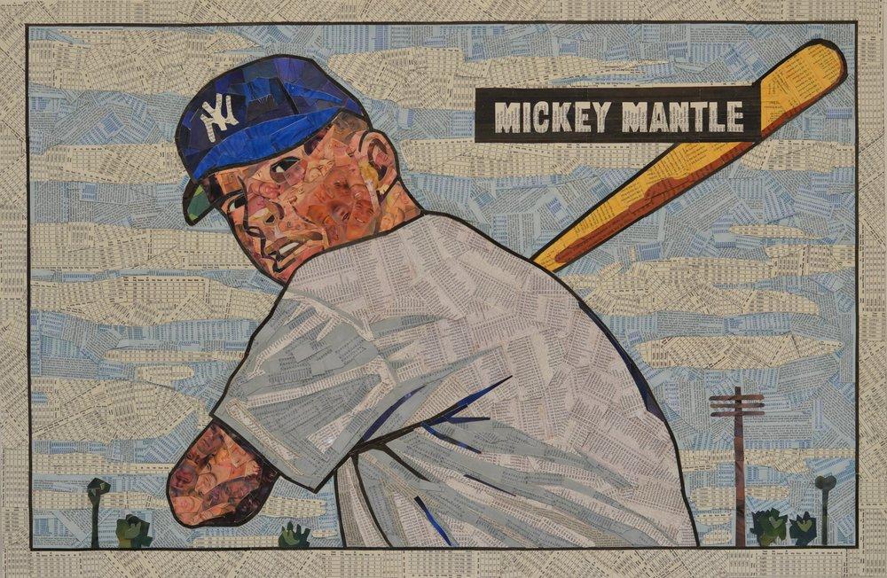 1951 Bowman Mickey Mantle RC