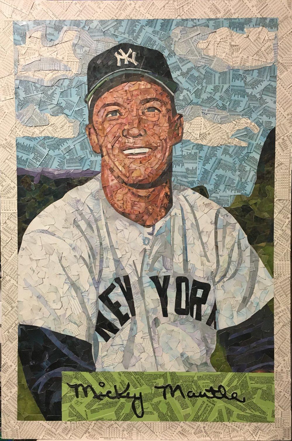 1954 Bowman Mickey Mantle