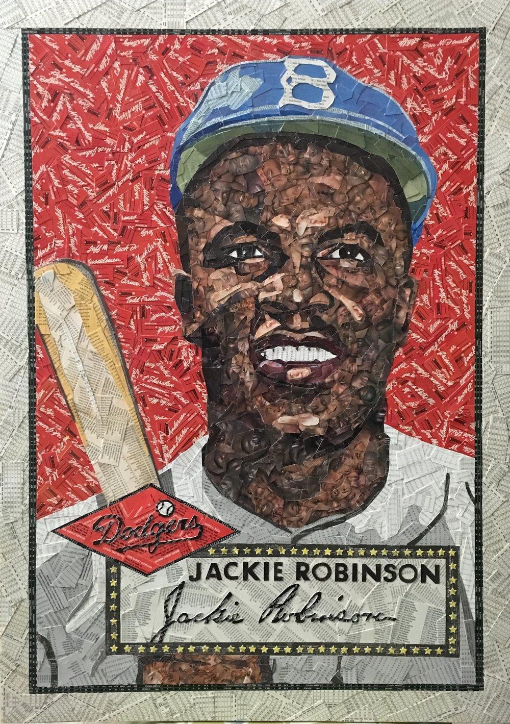 1952 Topps Jackie Robinson