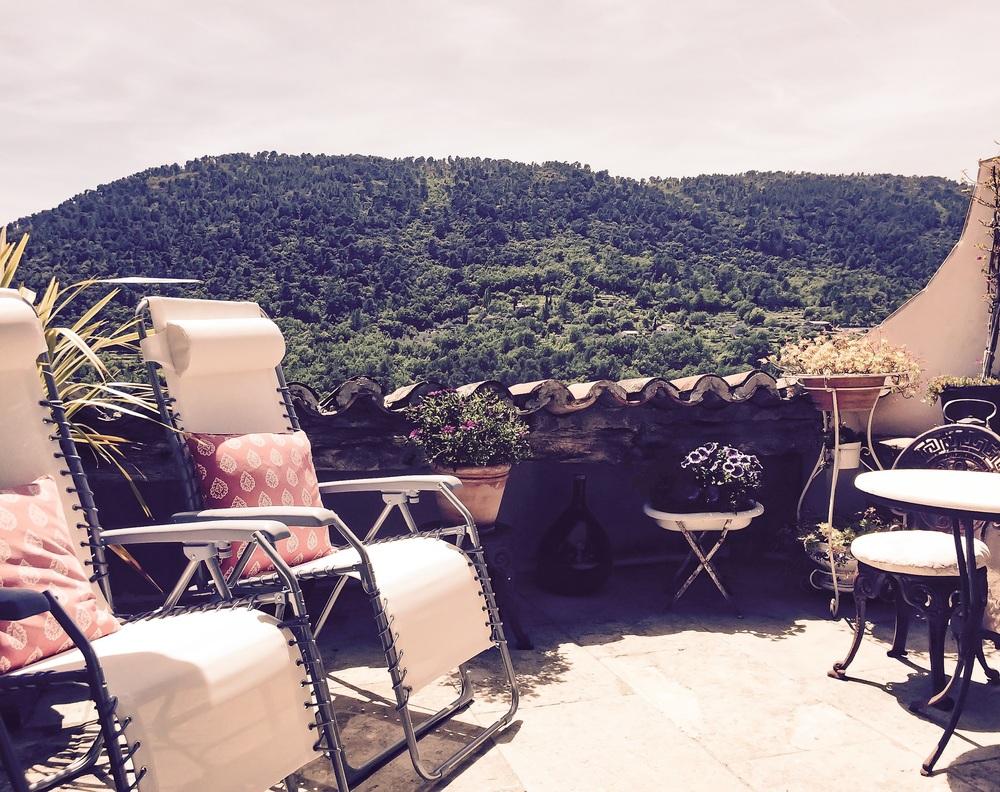 Muller's B&B terrasse