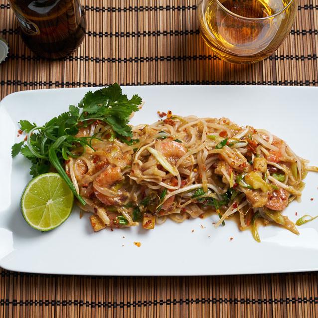 Prawn and Tofu Pad Thai