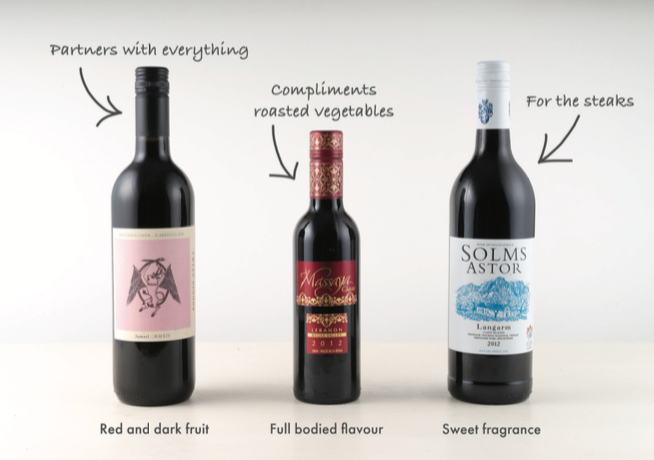 EatFirst Red Wines