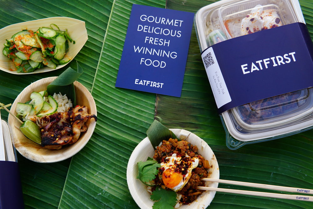 Kra Pow LDN will be available exclusively on EatFirst.com from April 20th, for home or work delivery to addresses across London.