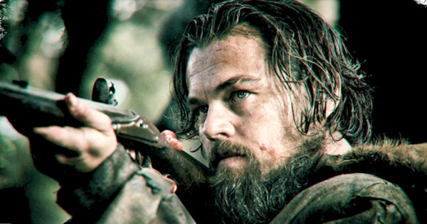 Leonardo Dicaprio in The revenAnt -New Regency & Ratpac Entertainment