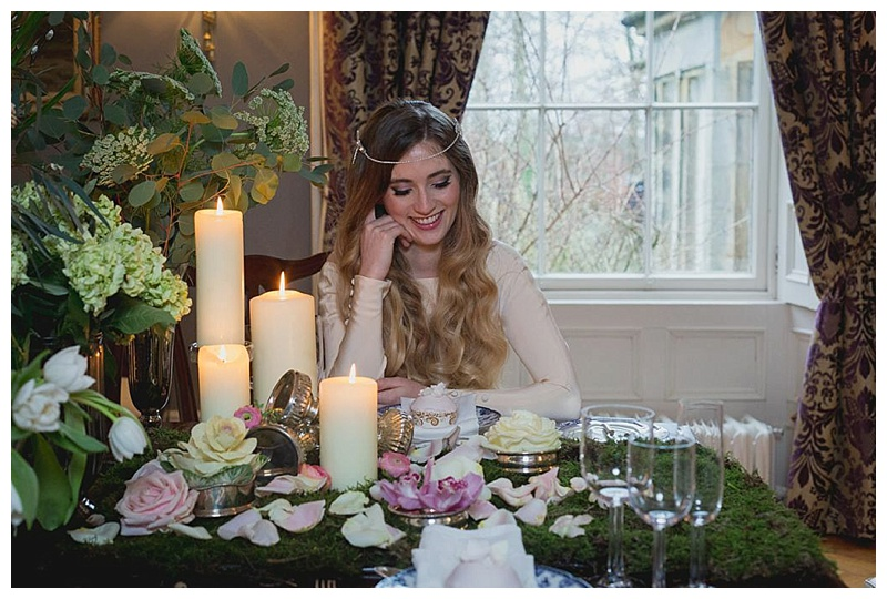 Blushing Botanics Styled Shoot