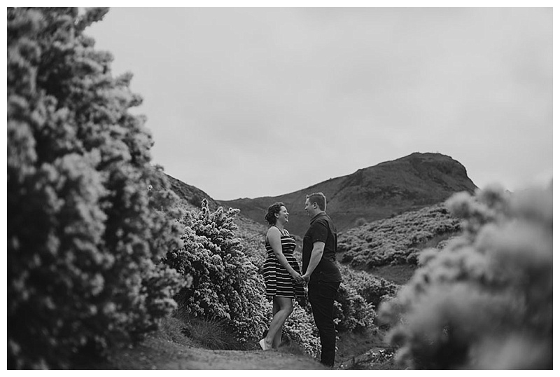 Arthurs Seat Engagement Shoot