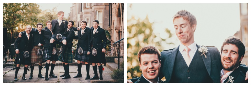 Kings Church Edinburgh Wedding