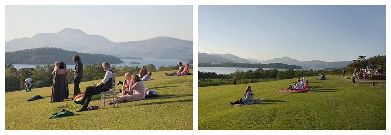 Loch Lomond DIY Wedding