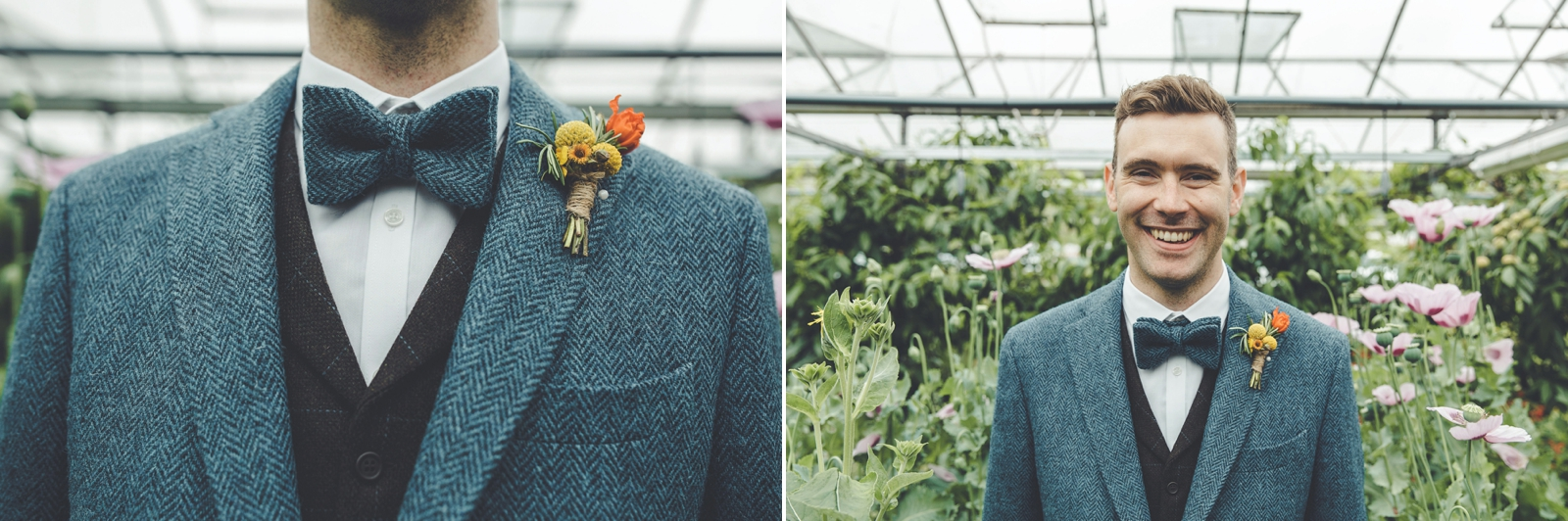 amy + adam | the secret herb garden — Braw Brides