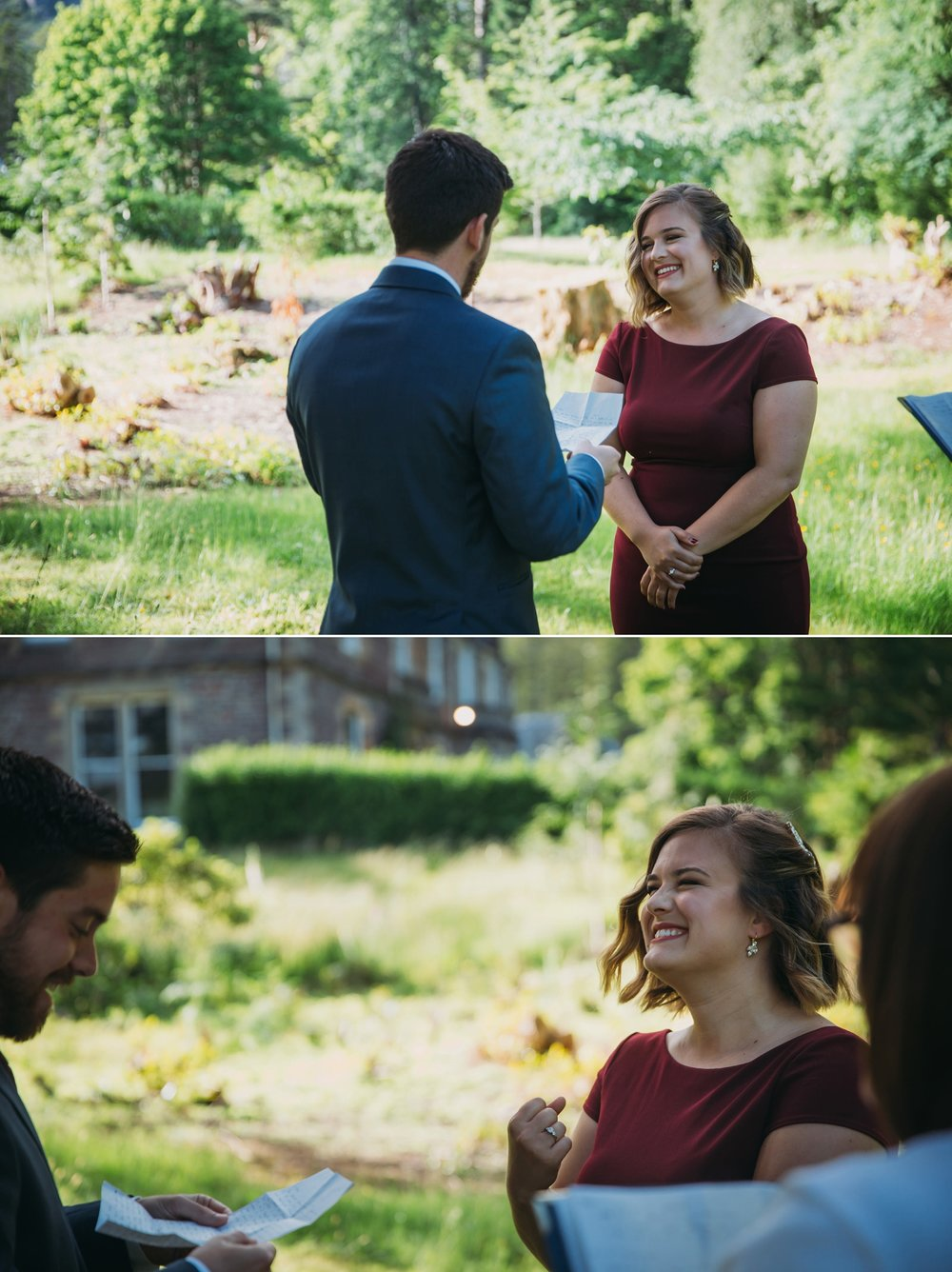 Jillian + Max eloped to Scotland, planning their wedding in two short months // Images by  Jo Donaldson Photography