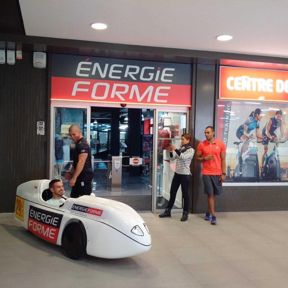 Animation opération Energie Forme Montparnasse le 07/10/2016