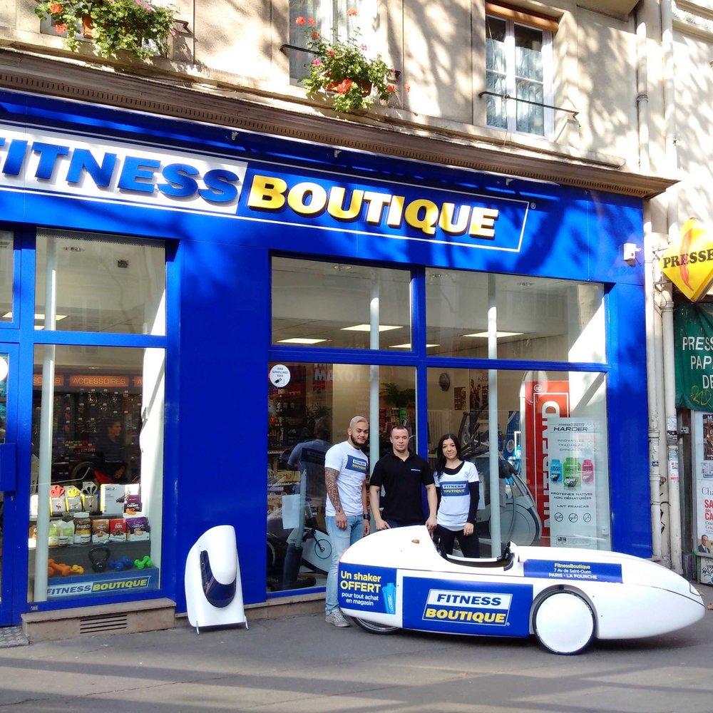 Opération Fitness Boutique, Paris La Fourche le 08/10/2016