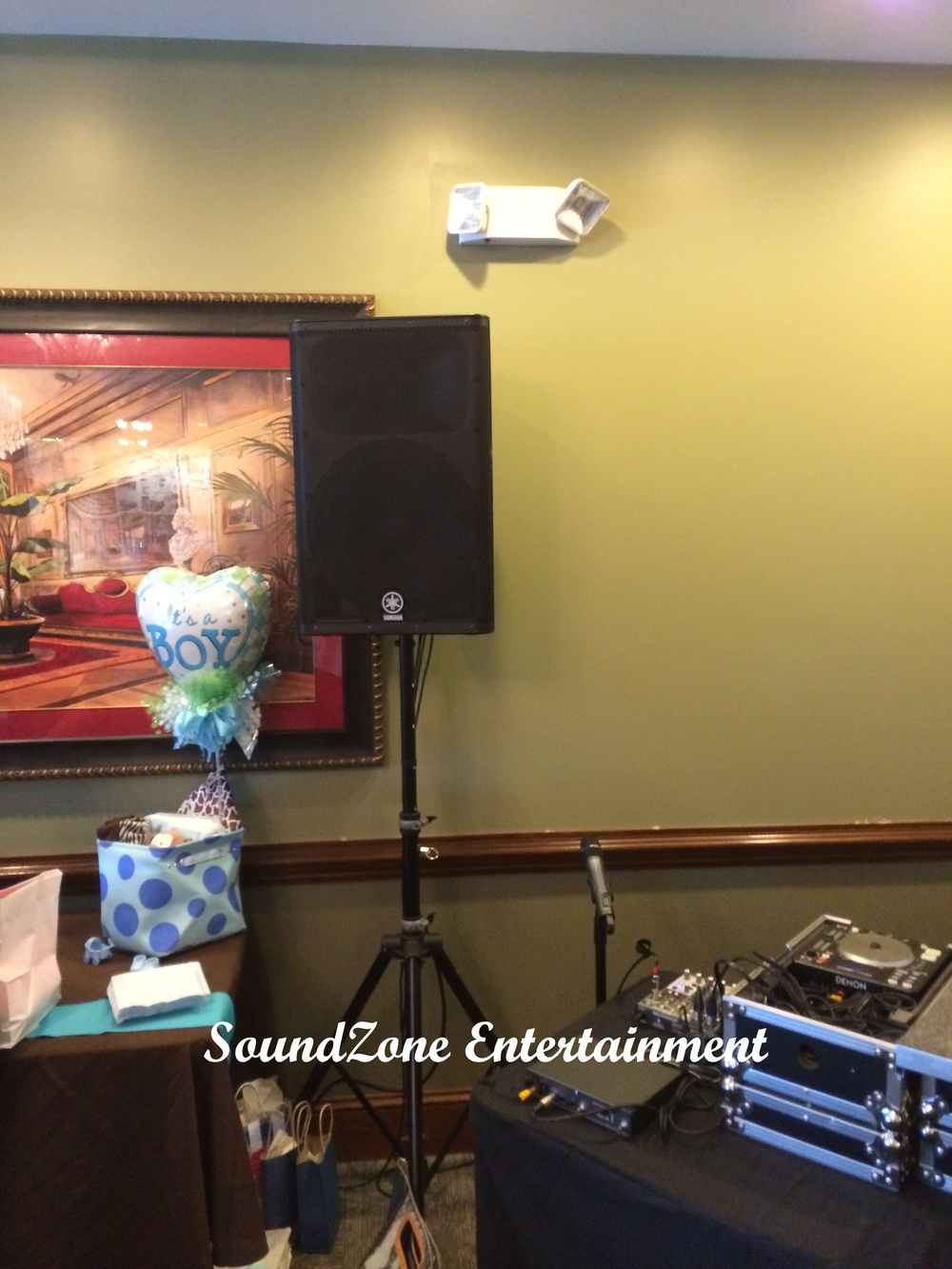 SoundZone Entertainment - Baby Shower