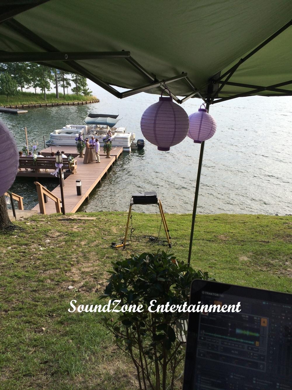 SoundZone Entertainment - Wedding at the Lake House
