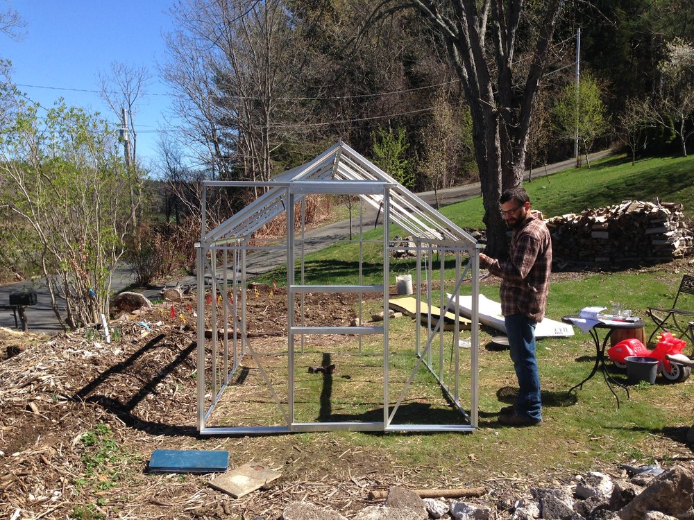 April 2017  Building the Greenhouse
