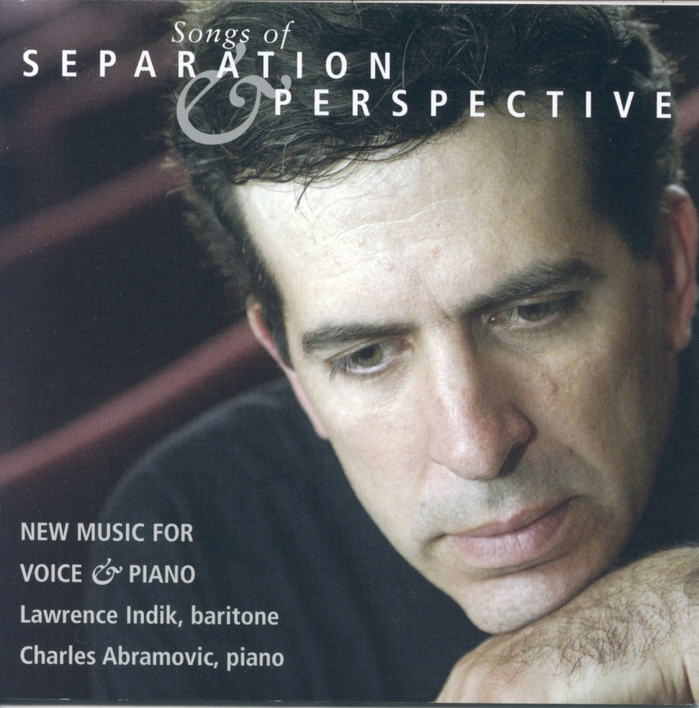 No Secret Hidden  - Featured on Songs of Separation and Perspective, Gesher Records (2003)