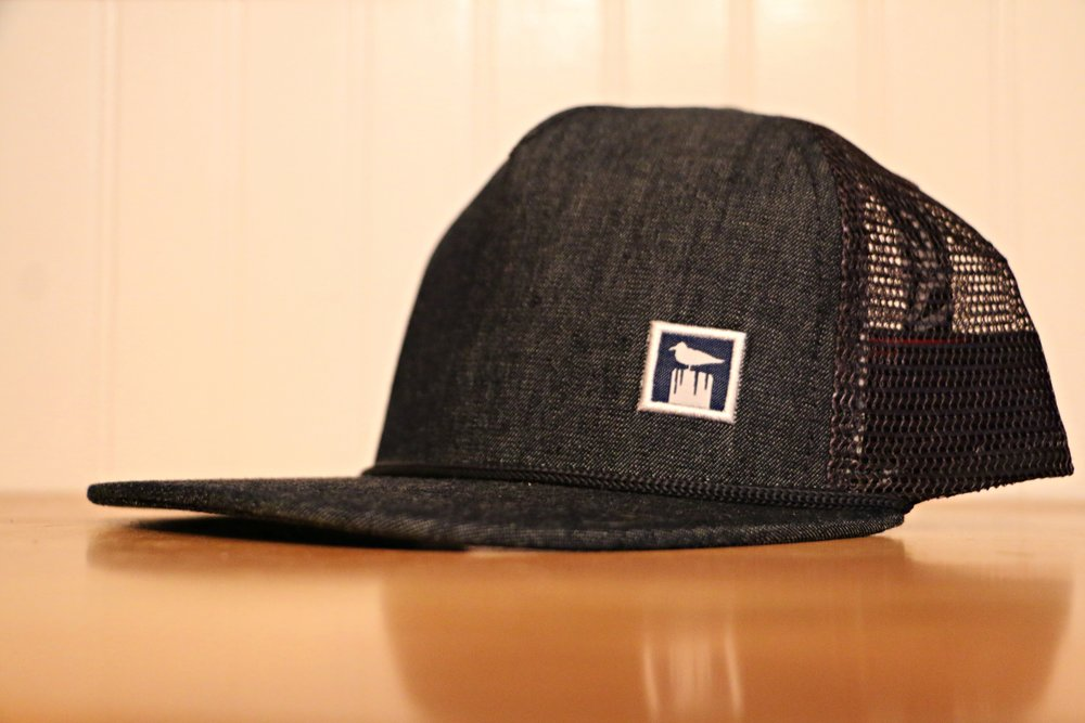 Level 2:  Jetty Grey/Navy Otis Snapback