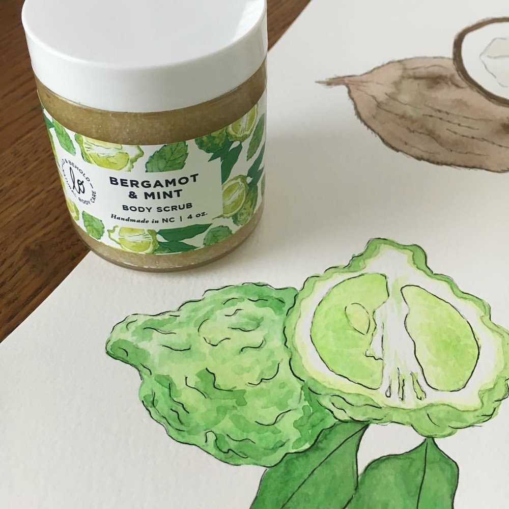 Watercolor art from Amy Richards Illustration.