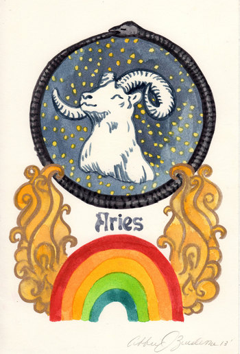 Aries-year of the of the black snake — Abbie J  Zuidema