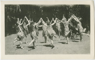 Nature Worshippers during a ceremonial dance (series), Colorado Springs, CO, 1913