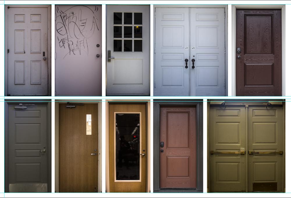 Asim Alghmadi, Doors, 2015