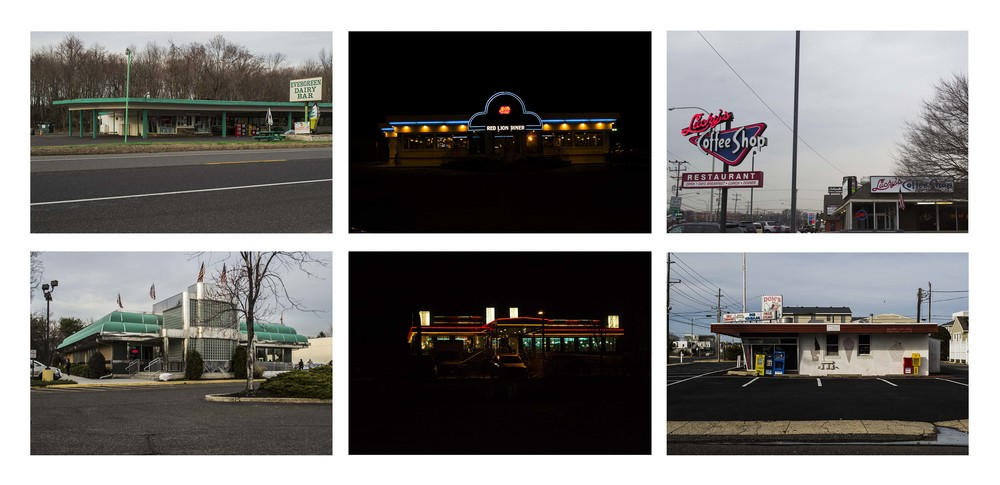 Maddy May, Diner Typology, 2014