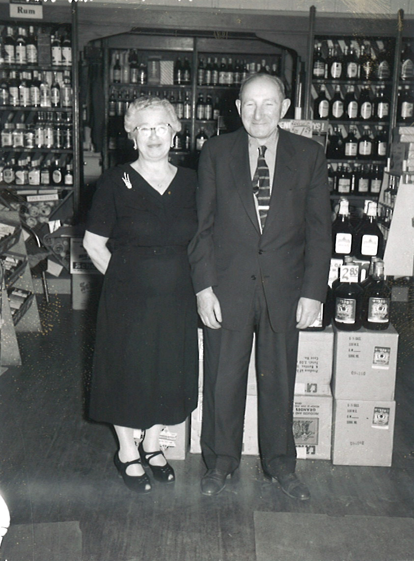 "Harry (aka ""Pops"") & Ida, c. 1960"