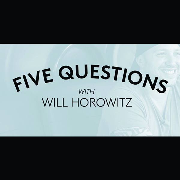 Eater: Five Questions with Will Horowitz