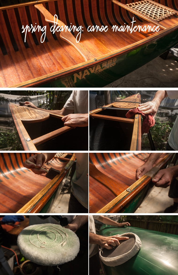 spring cleaning - canoe maintenance.jpg