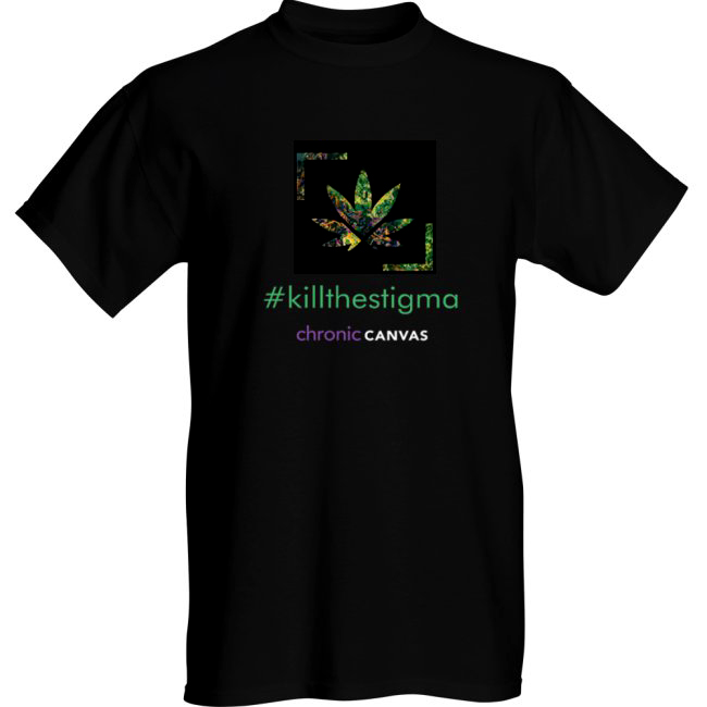 Men's KillTheStigma Black T-shirt  /  $30