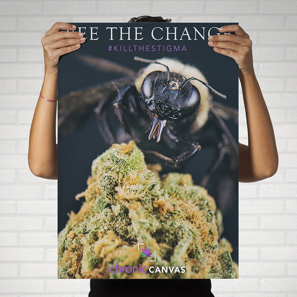 Bee the Change Poster / $25 - $35