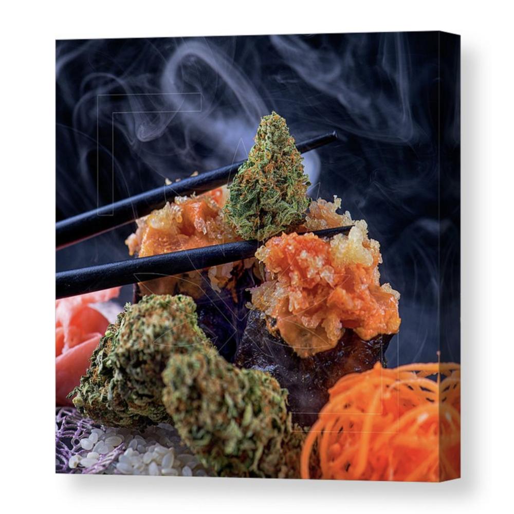 """Spirit Sushi"" Canvas / $70 - $150"