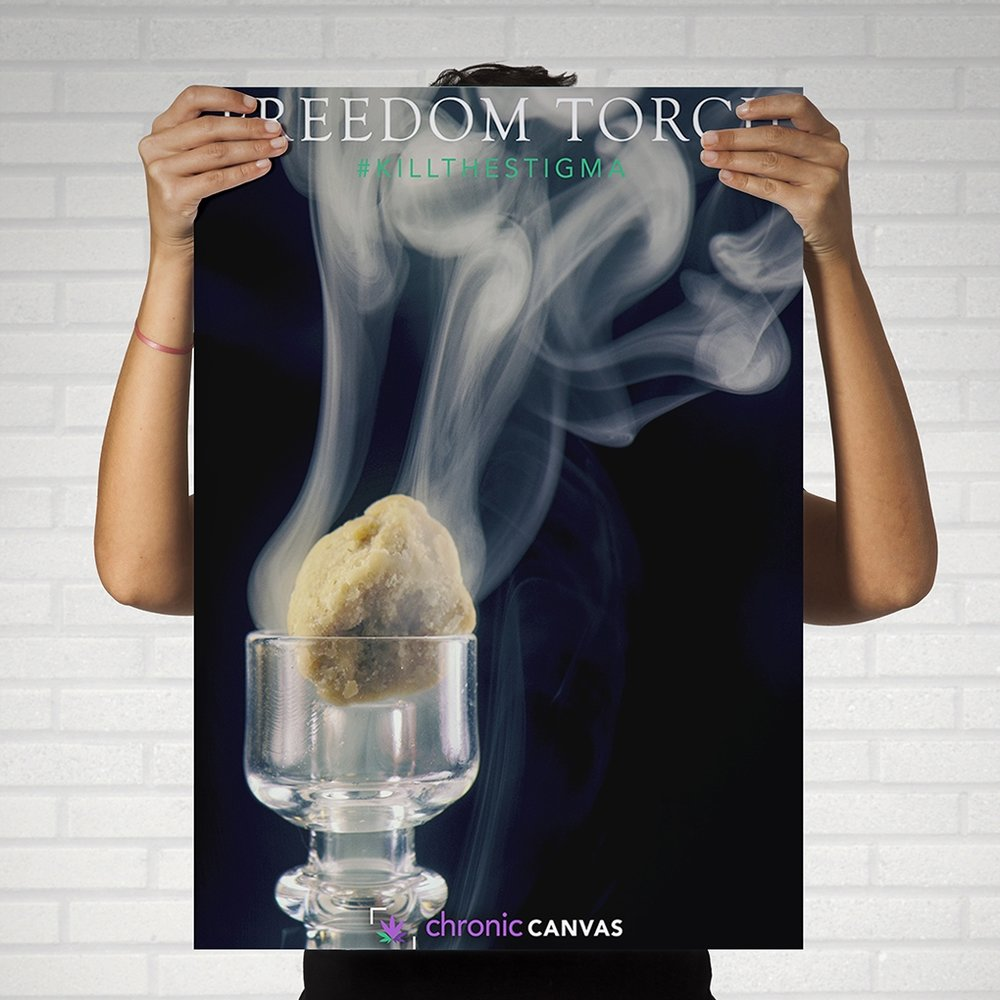 Freedom Torch Poster  /  $25 - $35