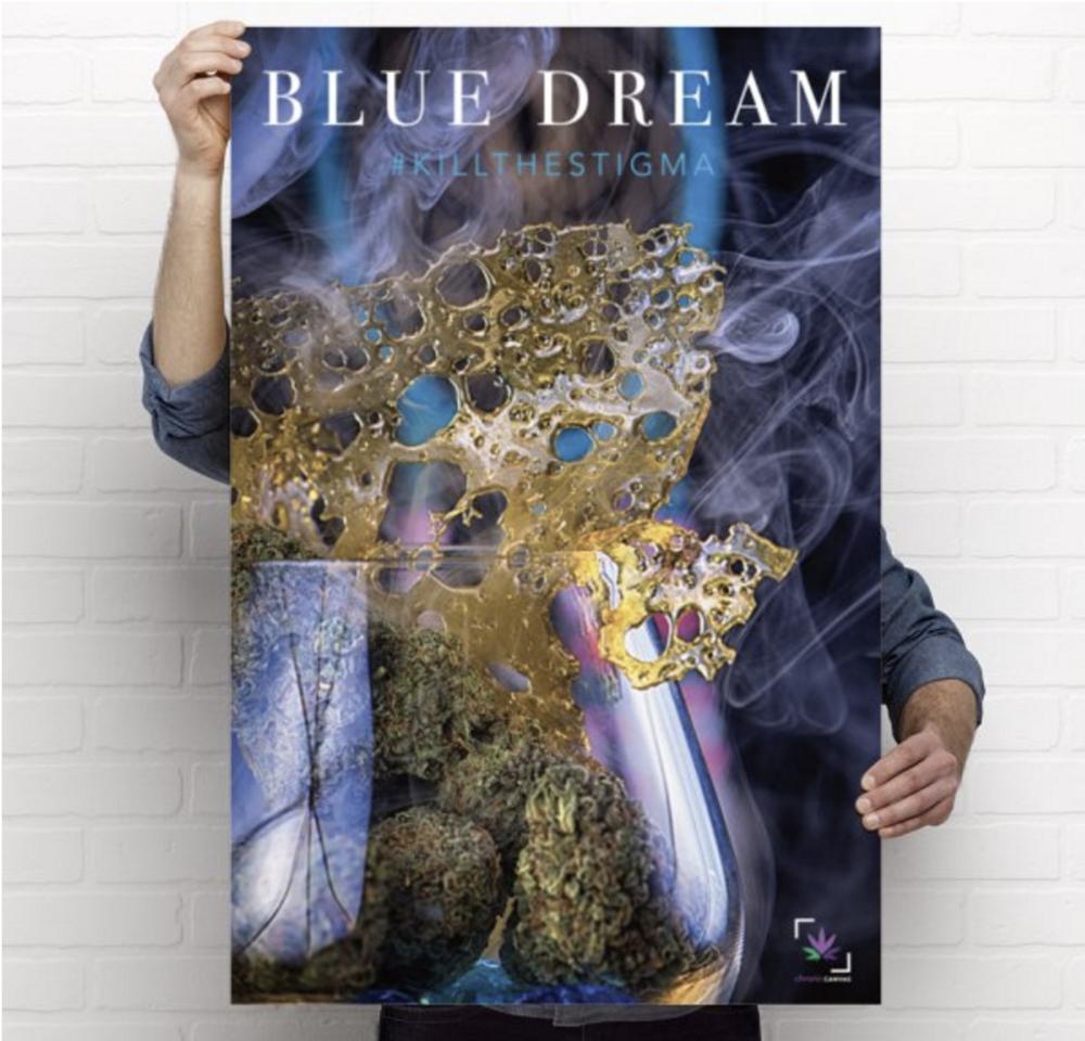 Blue Dream Poster / $25 - $35