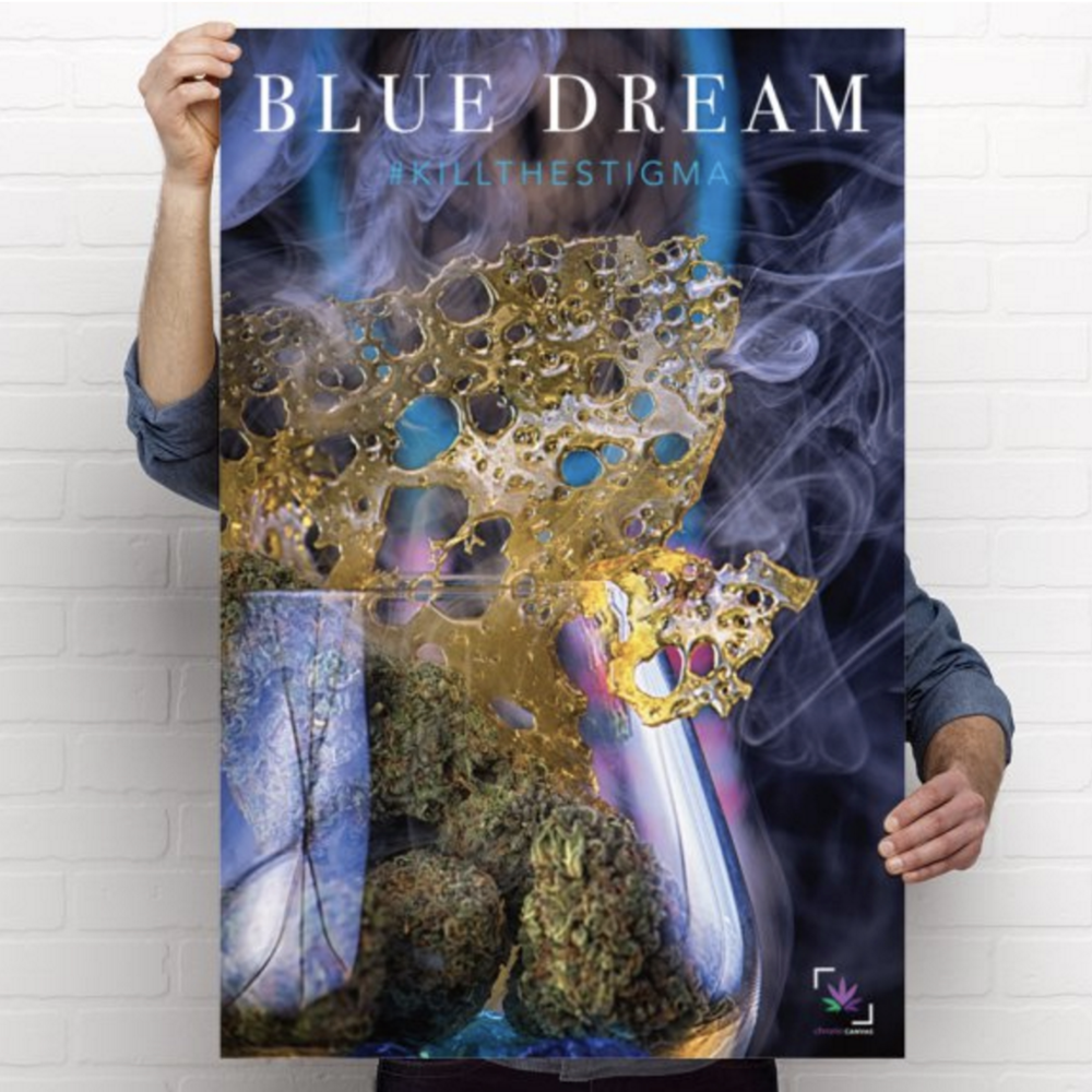 Blue Dream Poster  /  $25 - $35