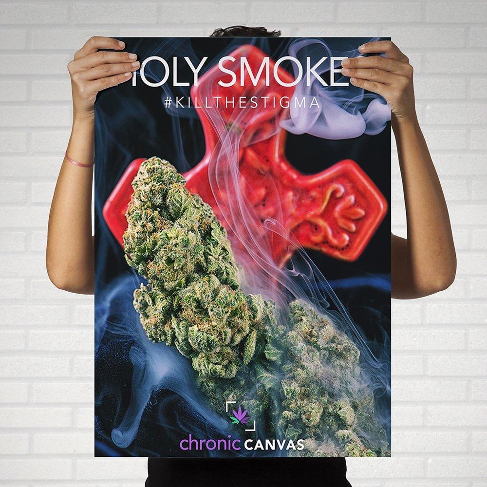 Holy Smokes Poster / $25 - $35