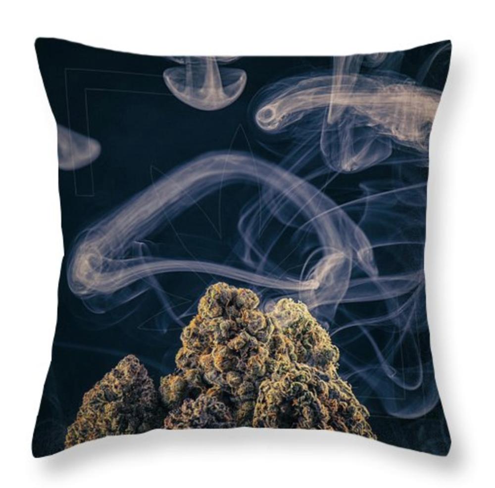 Kush Mountain Pillow / $35